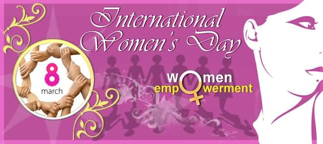 International Happy Women's Day Banner Image