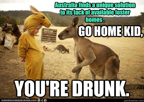Kangaroo Memes Australia finds a unique solution to its
