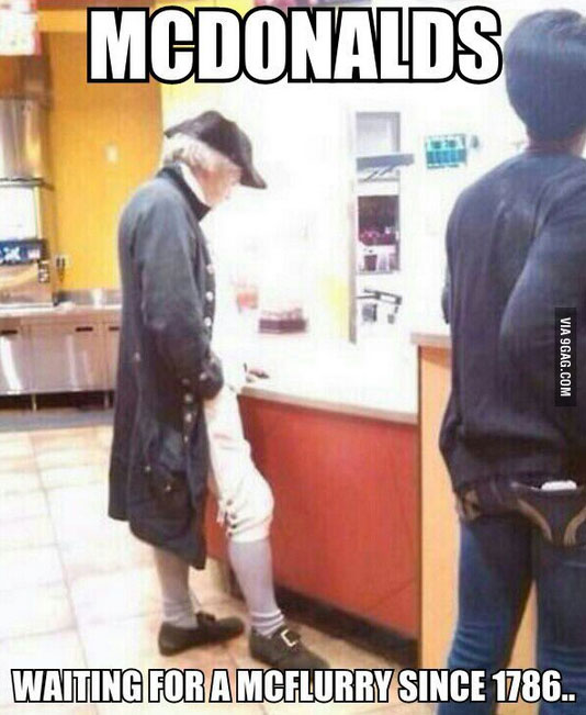 Mcdonalds Meme mcdonalds waiting for a mcflurry