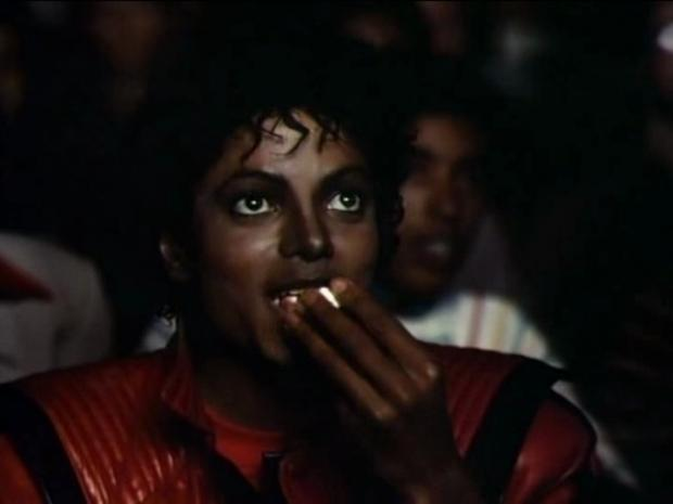 Michael Jackson Meme Watching movies