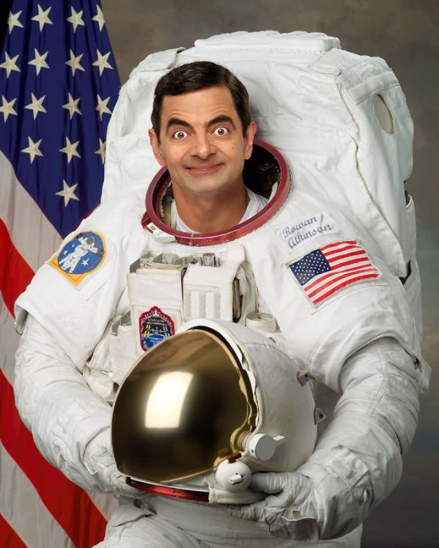 Mr Bean Funny Photoshop Images 28