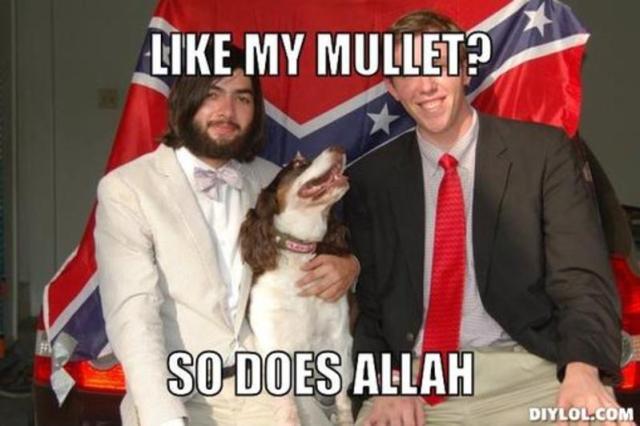 Mullet Meme Like my mullet so does allah
