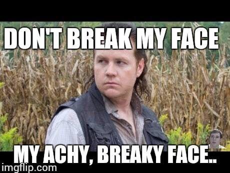 Mullet Memes don't break my Face my ache