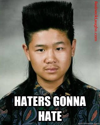 Mullet Memes haters gonna hate