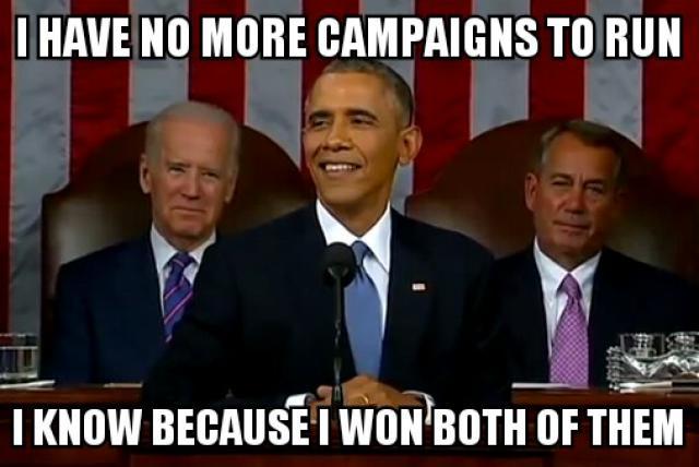 Obama Meme I have no more campaigns to run