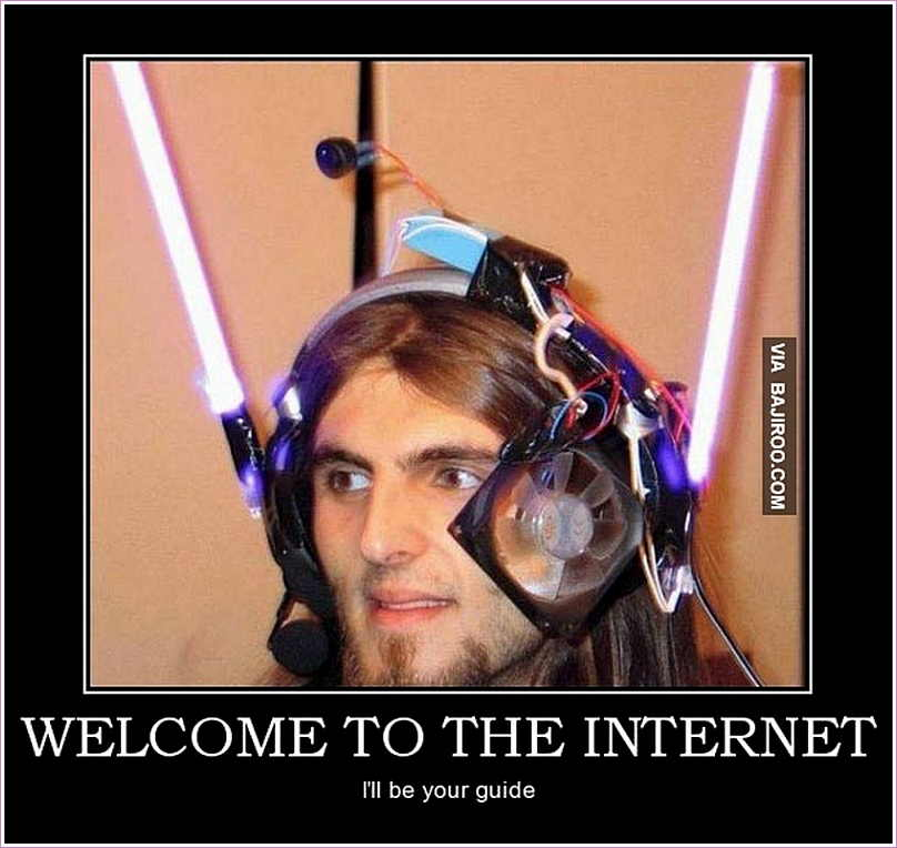 Online Meme Welcome to the internet i'll be your guide