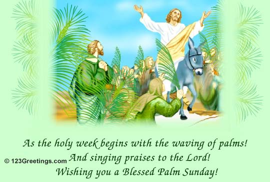 Palm Sunday Wishes Quotes 11