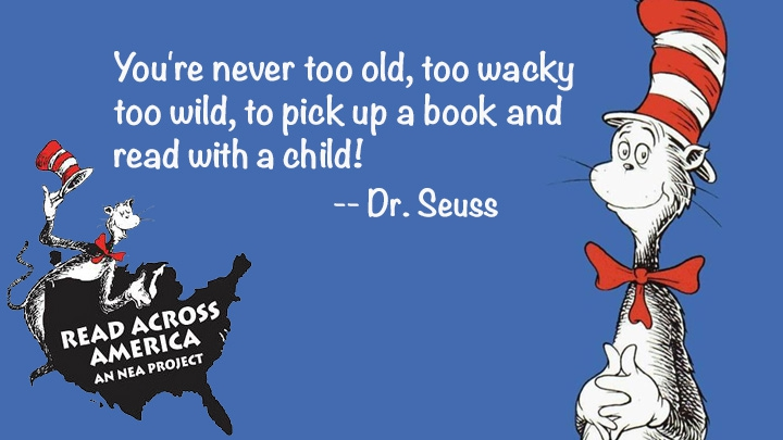 Read Across America Day Dr.Seuss Quotes