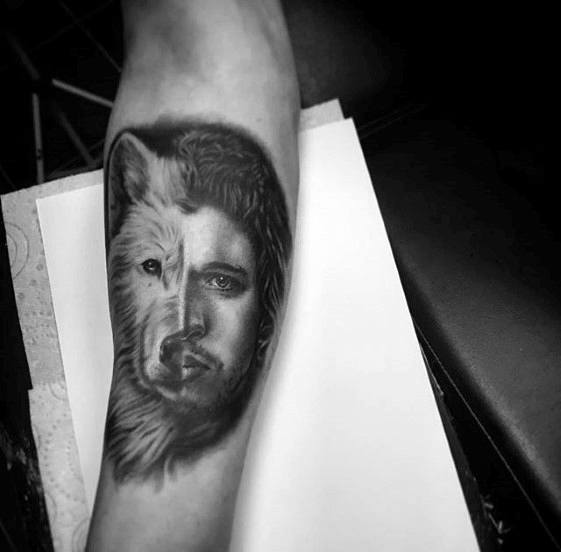Stunning Game Of Thrones Tattoo On arm for girl