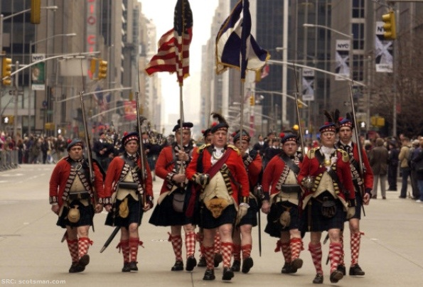 Tartan Day Parade Picture