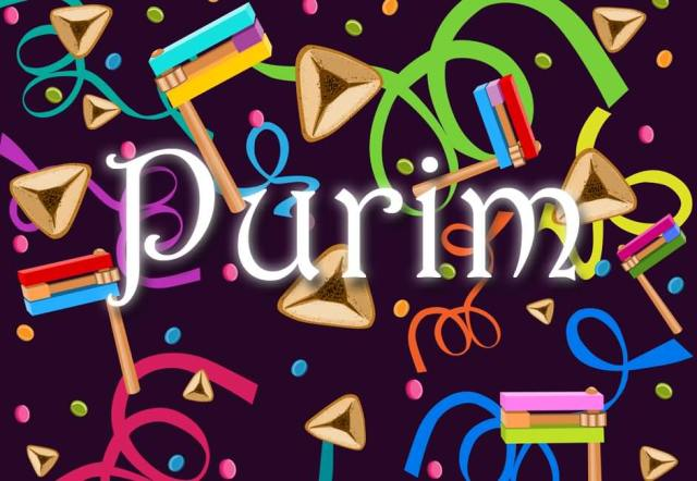 You And Your Family Happy Purim Images Message