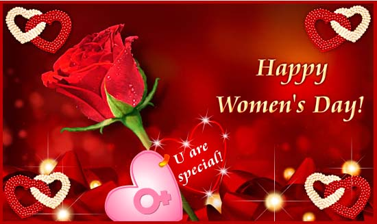 You Are Special Happy International Women's Day