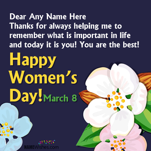You Are The Best Happy Women's Day Greetings Images