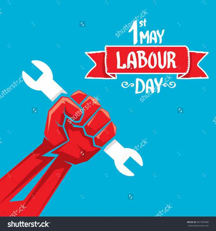 1st May Labour Day Wishes Clipart Images