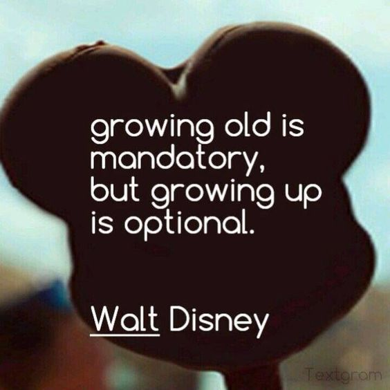 Age Quotes growing old is mandatory but growing