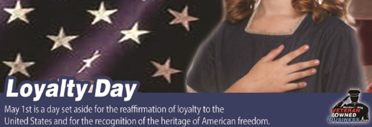 America Loyalty Day May 1st