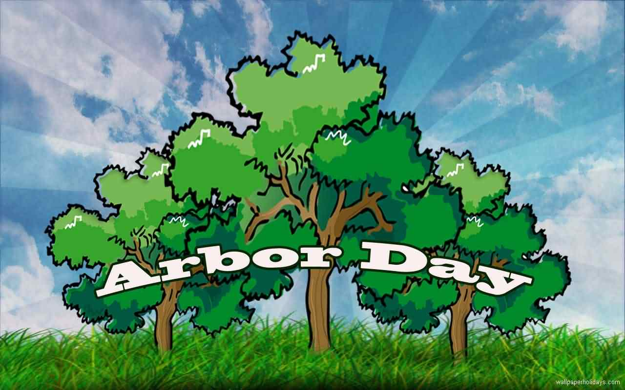 Best Arbor Day Wallpaper Poster Image