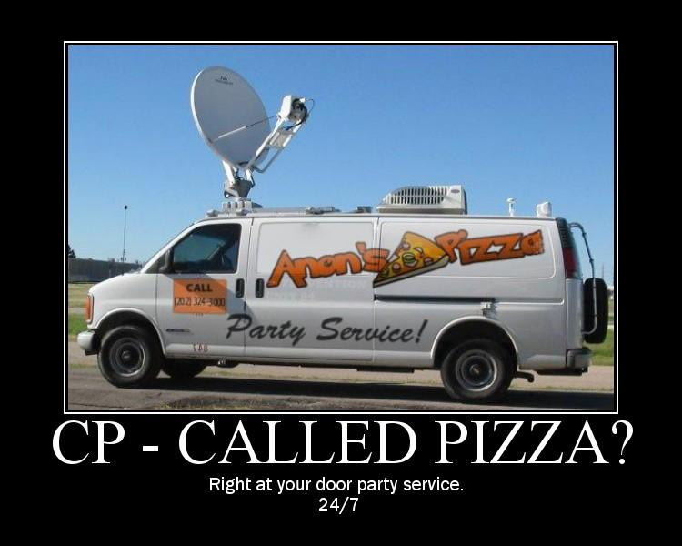 Cp Called pizza right at your door party Van Memes