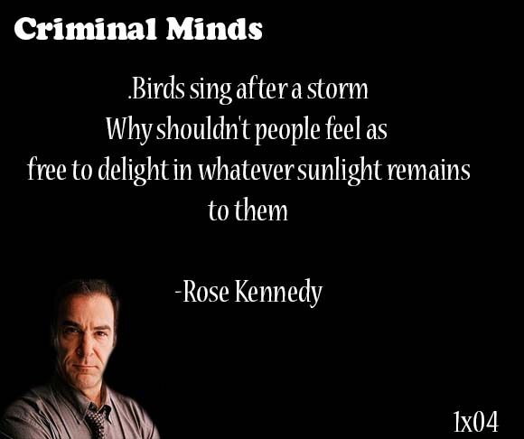 44 Intense Criminal Minds Quotes, Sayings, Images ...