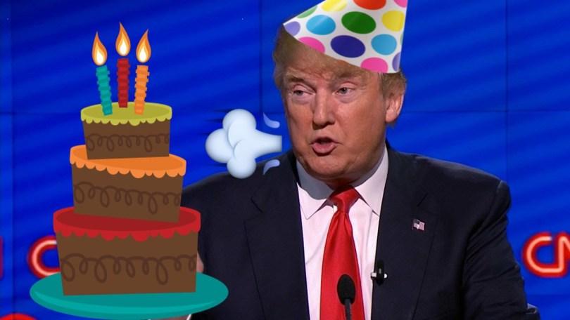 Donald Trump Birthday Meme Funny