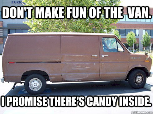 Don't make fun of the van Memes