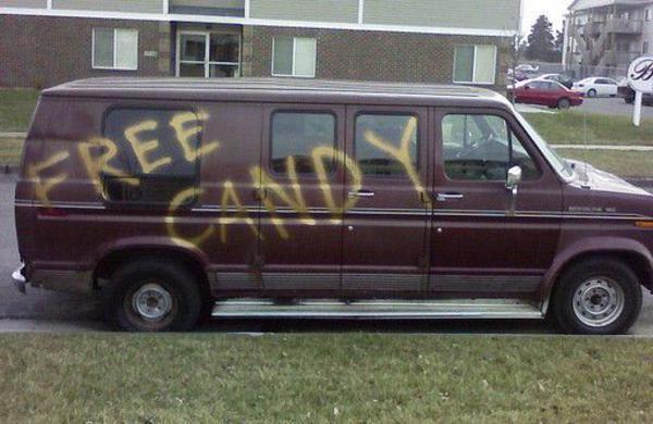 Free candy Van Memes.