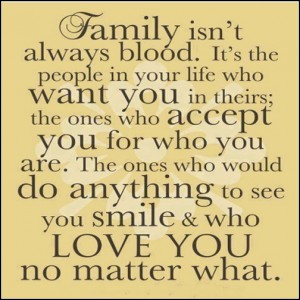 Godmother Quotes family isn't always blood it's the people in your