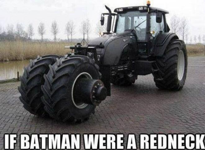 If batman were a redneck Memes