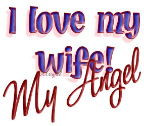 Love Quotes For Wife i love my wife my angel