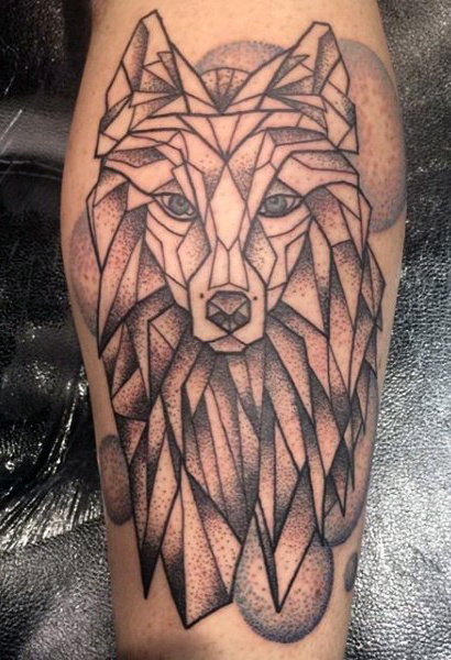 Marvelous Calf Tattoos On Leg for Men