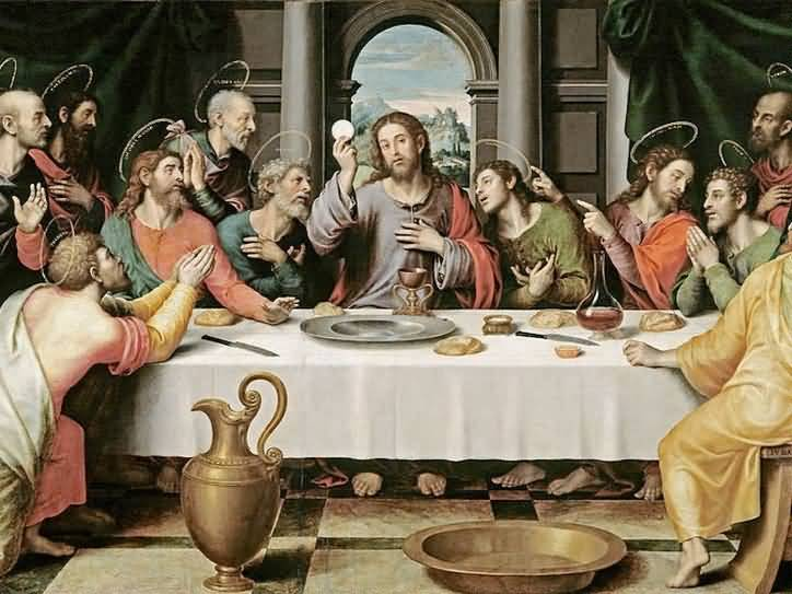 Maundy Thursday Jesus Images
