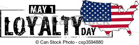 May 1 Loyalty Day America Wishes Image