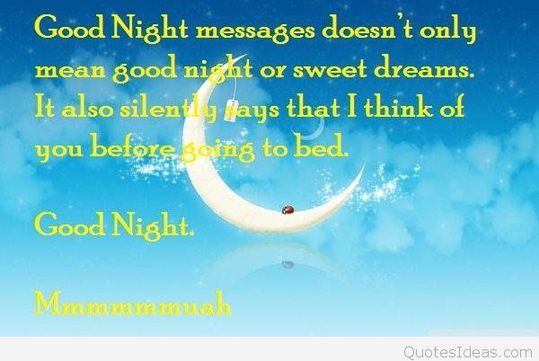 Nice Good Night Love Quotes