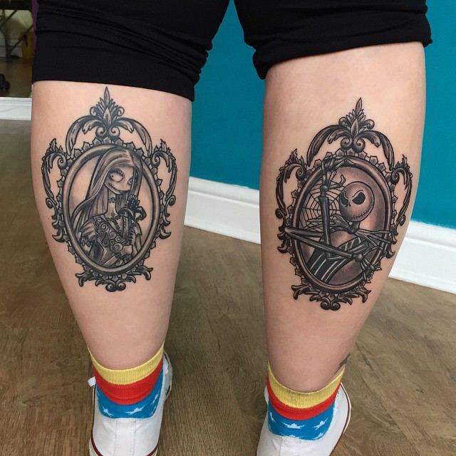 Perfect Calf Tattoos On Leg for Boy