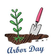 Planting Tree Happy Arbor Day Image