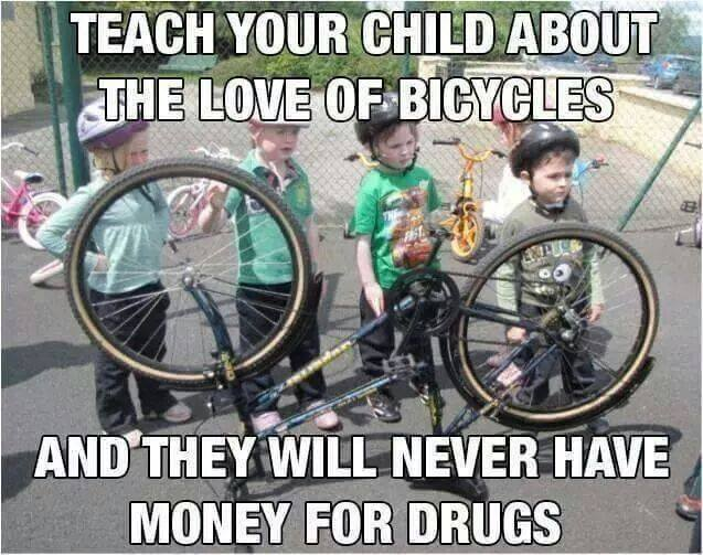 Redneck Meme Teach your child about the love of bicycles