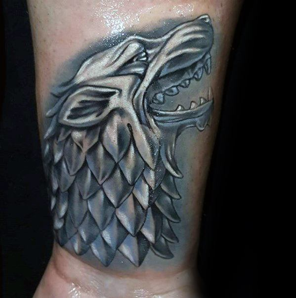 Sensation Game Of Thrones Tattoos On hand for boy