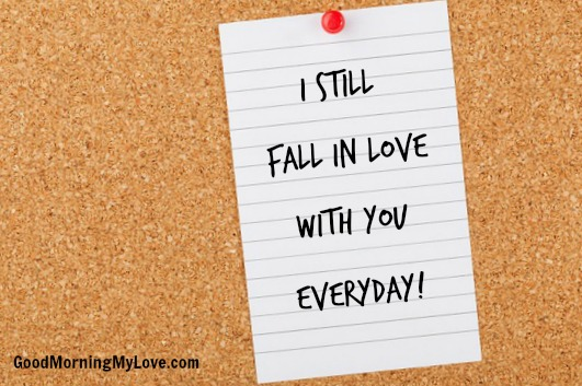 Short Love Quotes i still fall in love with you