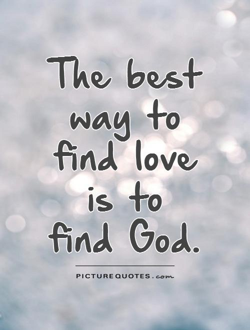 Small Love Quotes About God