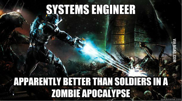 Systems engineer apparently better than soldiers Space Memes