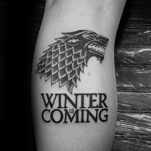 Terrific Game Of Thrones Tattoos On arm for guy