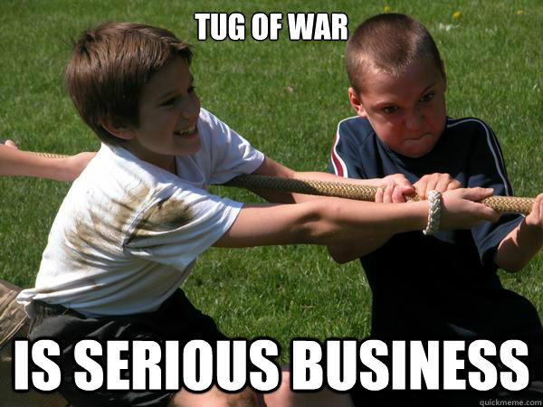 War Meme Tug of war is serious business