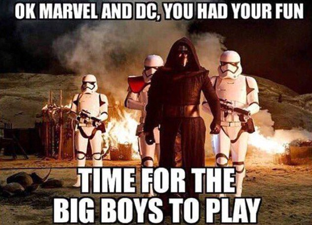 War Memes Ok marvel and dc you had your fun