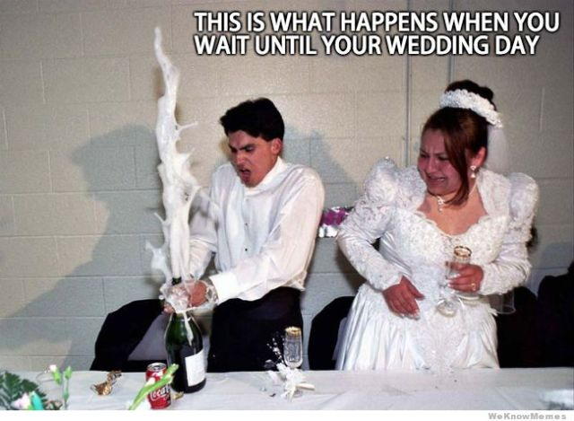 Wedding Meme This is what happens when you