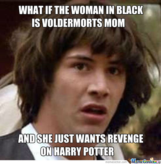 Woman Meme What if the woman in black is