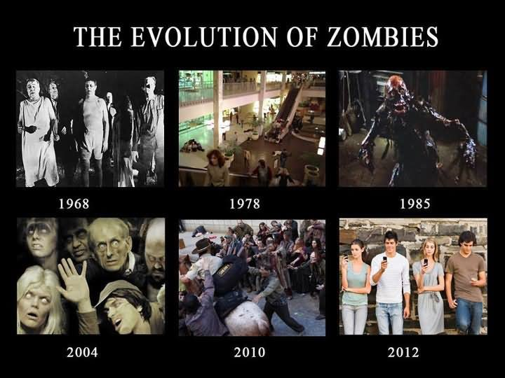 Zombie Meme They evolution of zombies