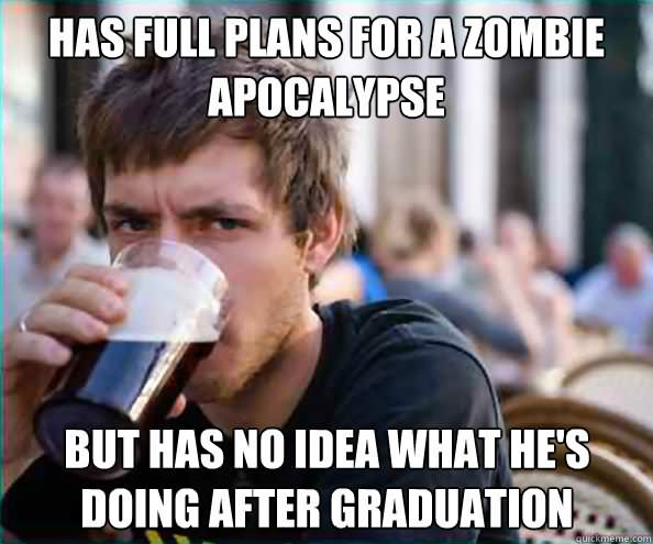 Zombie Meme has full plans for a zombie apocalypse