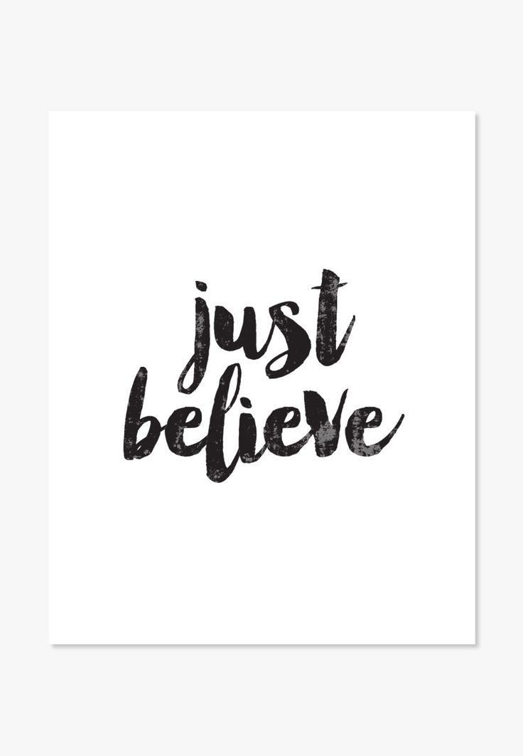 believe quotes just believe