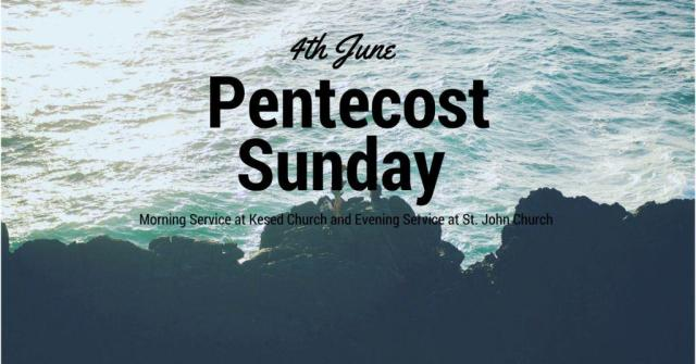 4th June Pentecost Sunday Wishes Message Image
