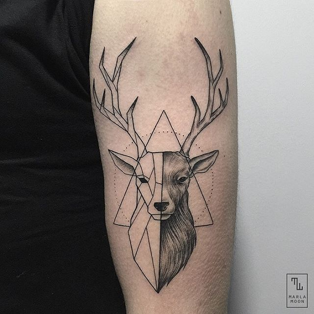 Geometric Animal Tattoos